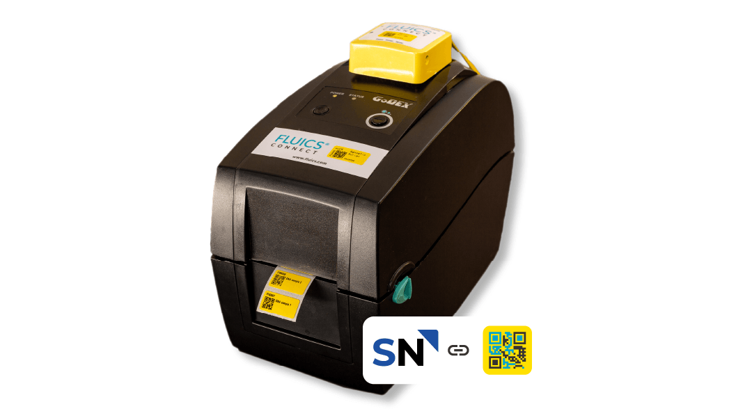 FLUICS Print integration for SciNote